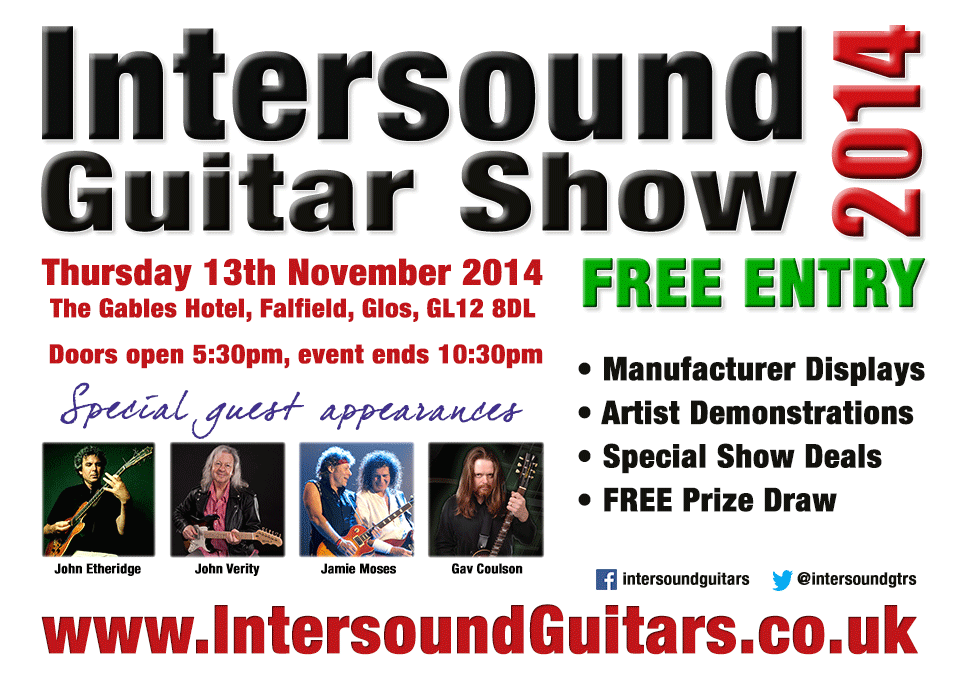 Intersound Guitar Show 2014