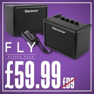 Blackstar Fly Stereo Pack - Weekend Megadeal Social Graphic